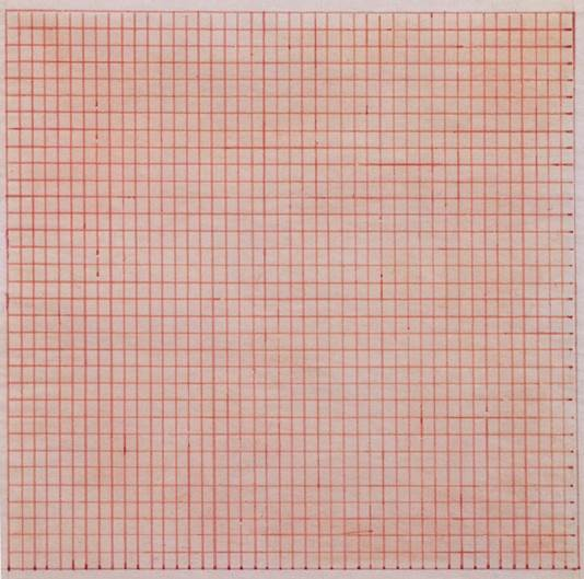 Agnes Martin's Untitled, 1963